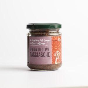 Polpa olive taggiasche